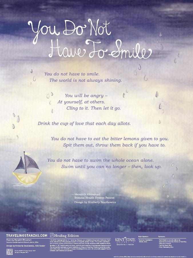 YouDoNotHaveToSmile-Rhinehart-Poster